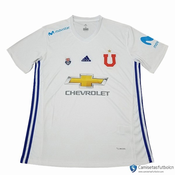Camiseta Universidad De Chile Segunda equipo 2017-18 Blanco